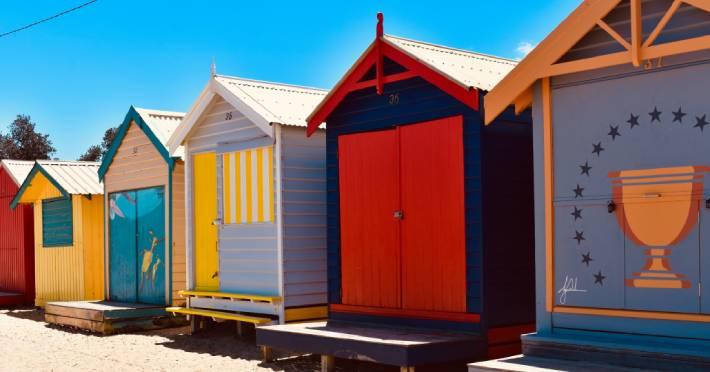 Brighton Bathing Boxes
