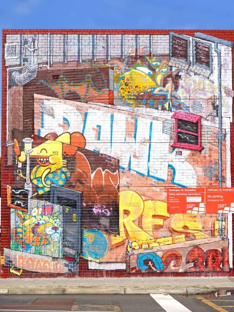 Graffiti in Perth